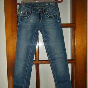MISS ME SKINNY JEANS WITH FLAP POCKETS SIZE 25/31